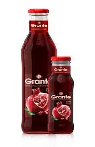 Pommegranate Juice w bottle