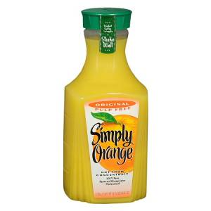 REFILL squeezed juice in bottle